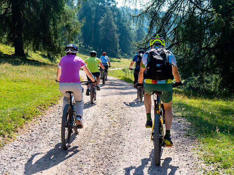 Mountainbiken – Gruppe