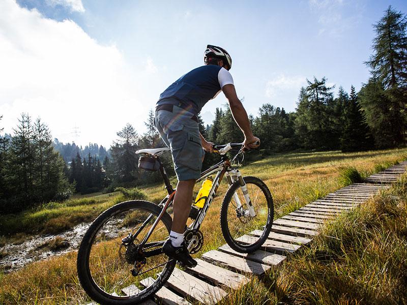 Biken im Moor