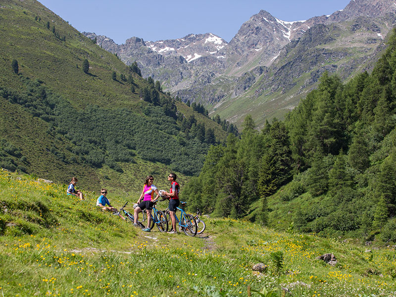 Bike mit der Familie in Serfaus-Fiss-Ladis