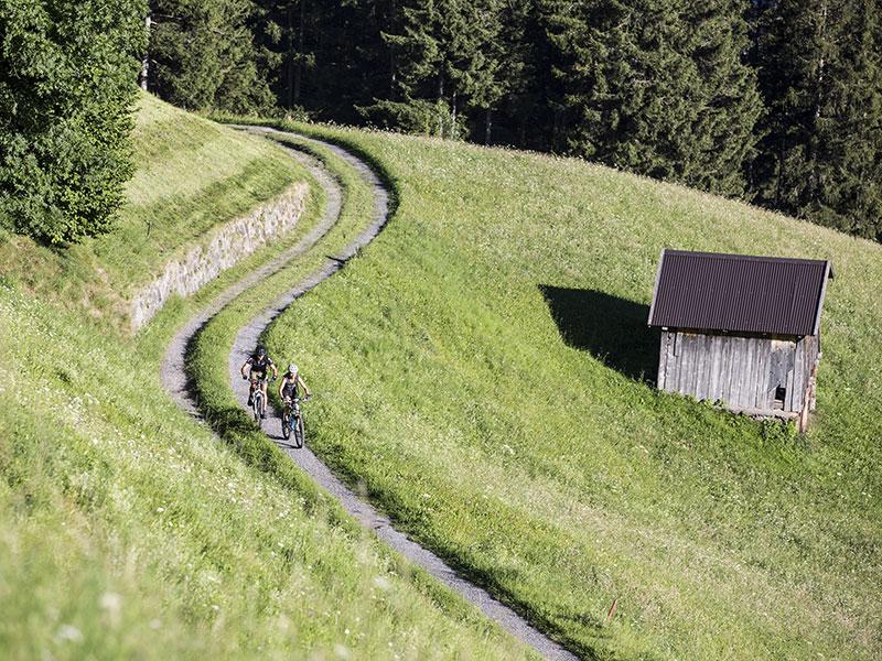 Mountainbiken in Fließ