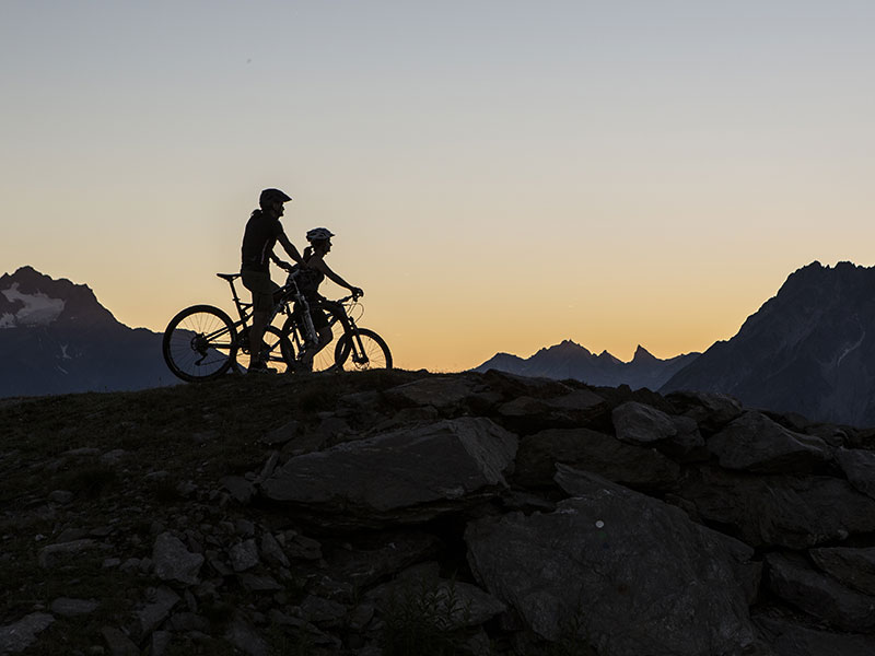 Mountainbiken Fließ