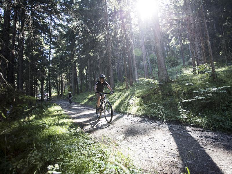 Mountainbiken nach Kronburg